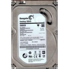 Seagate ST2000DX001 P/N: 1CM164-542 F/W: CC62 2TB TK SSHD