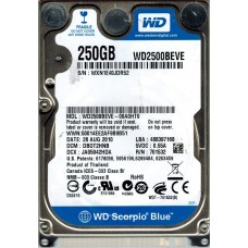 WD2500BEVE-00A0HT0