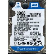 WD3200BPVT-22ZEST0