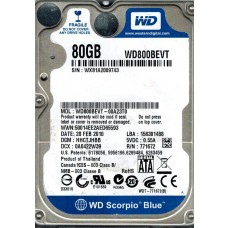 WD800BEVT-00A23T0