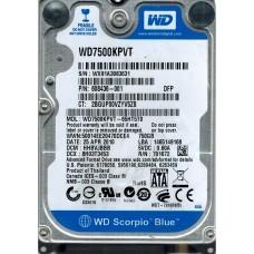 WD7500KPVT-65HT5T0