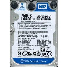 WD7500KPVT-00HT5T0