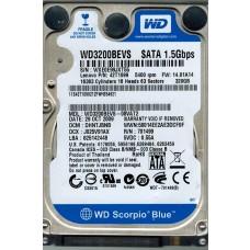 WD3200BEVS-08VAT2