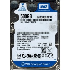 WD5000BEVT-35A0RT0