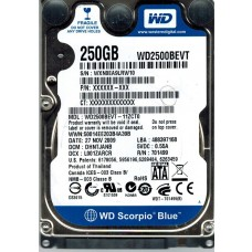 WD2500BEVT-11ZCT0