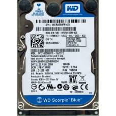 WD1600BEVT-75ZCT2