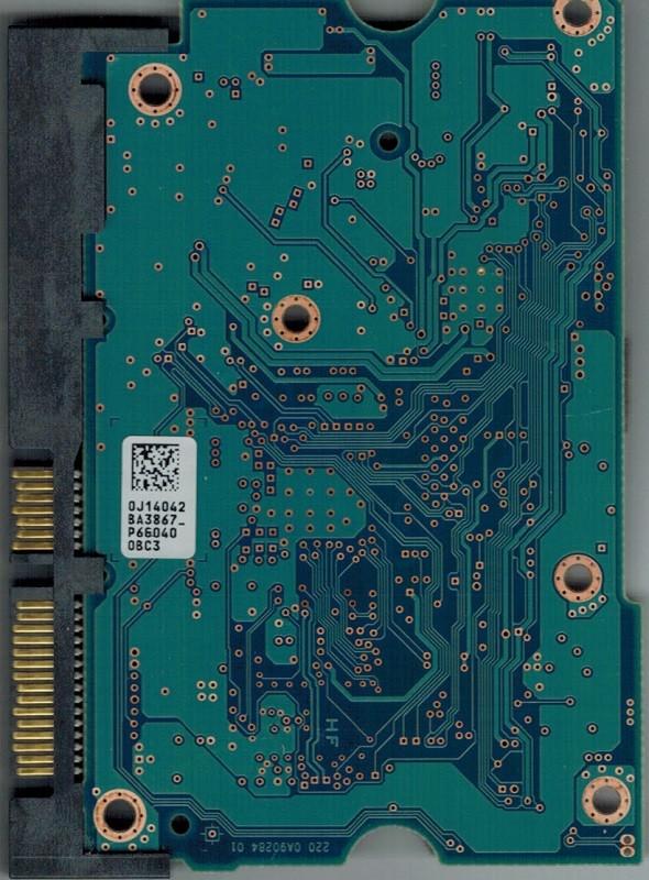 PCB Hitachi HDS723030ALA640 P/N: 0F12450 MLC: MRK390 0J14042 BA3867