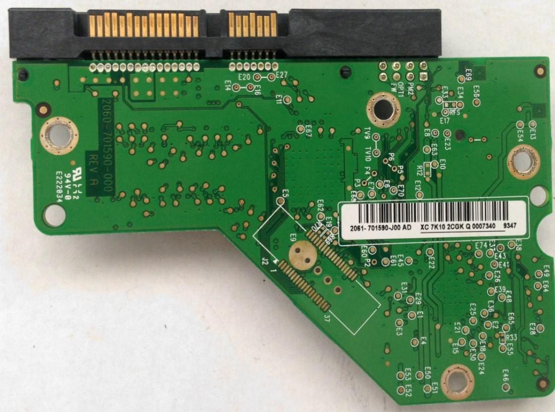 PCB Western Digital WD10EADS-00L5B1 2061-701590-J00 AD 1TB