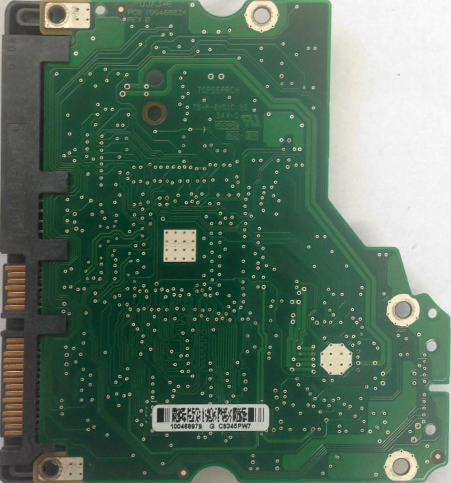 PCB Seagate ST3750330AS P/N: 9BX156-568 F/W: SD35 100468979