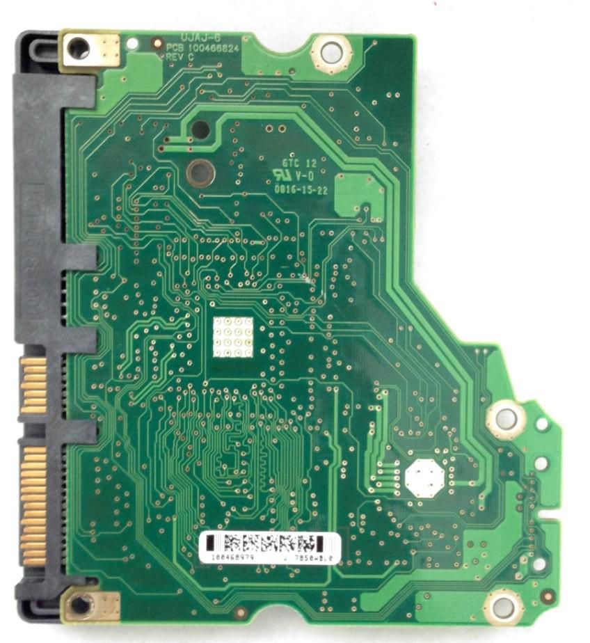 PCB ST3750330AS P/N: 9BX156-303 F/W: SD15 100468979 Seagate