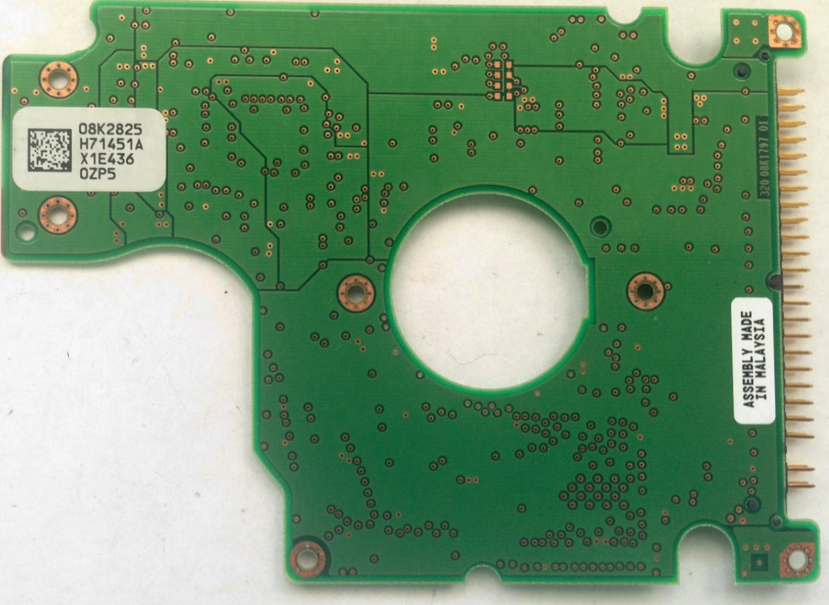 PCB HTS548040M9AT00 08K2825 H71451A P/N: 08K0846 MLC: DA1053 Hitachi