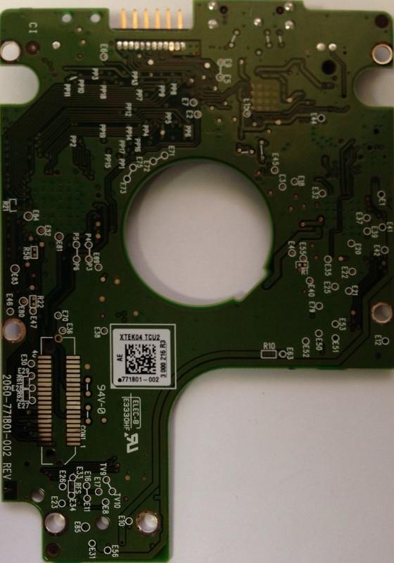 PCB WD20NMVW-11W68S0 2061-771801-002 AE USB 3.0 Western Digital