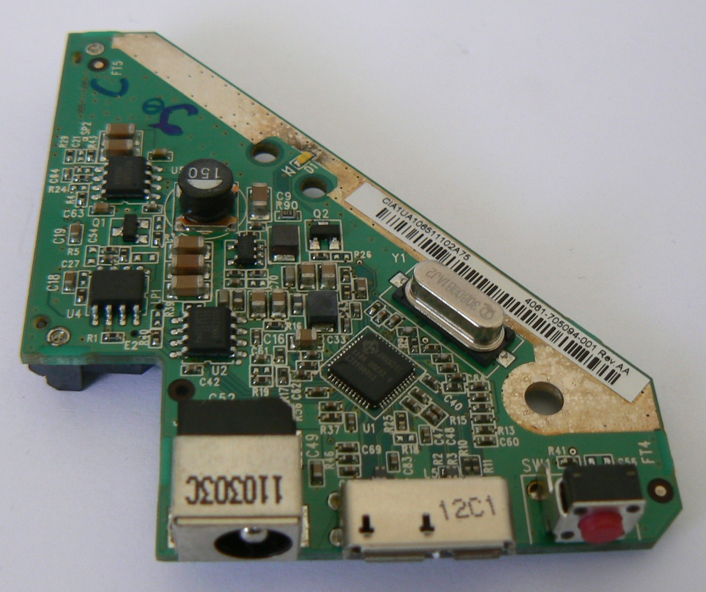4061-705094-001 Rev AA WD Controller Board My Book Essential 1TB/2TB/3TB USB 3.0
