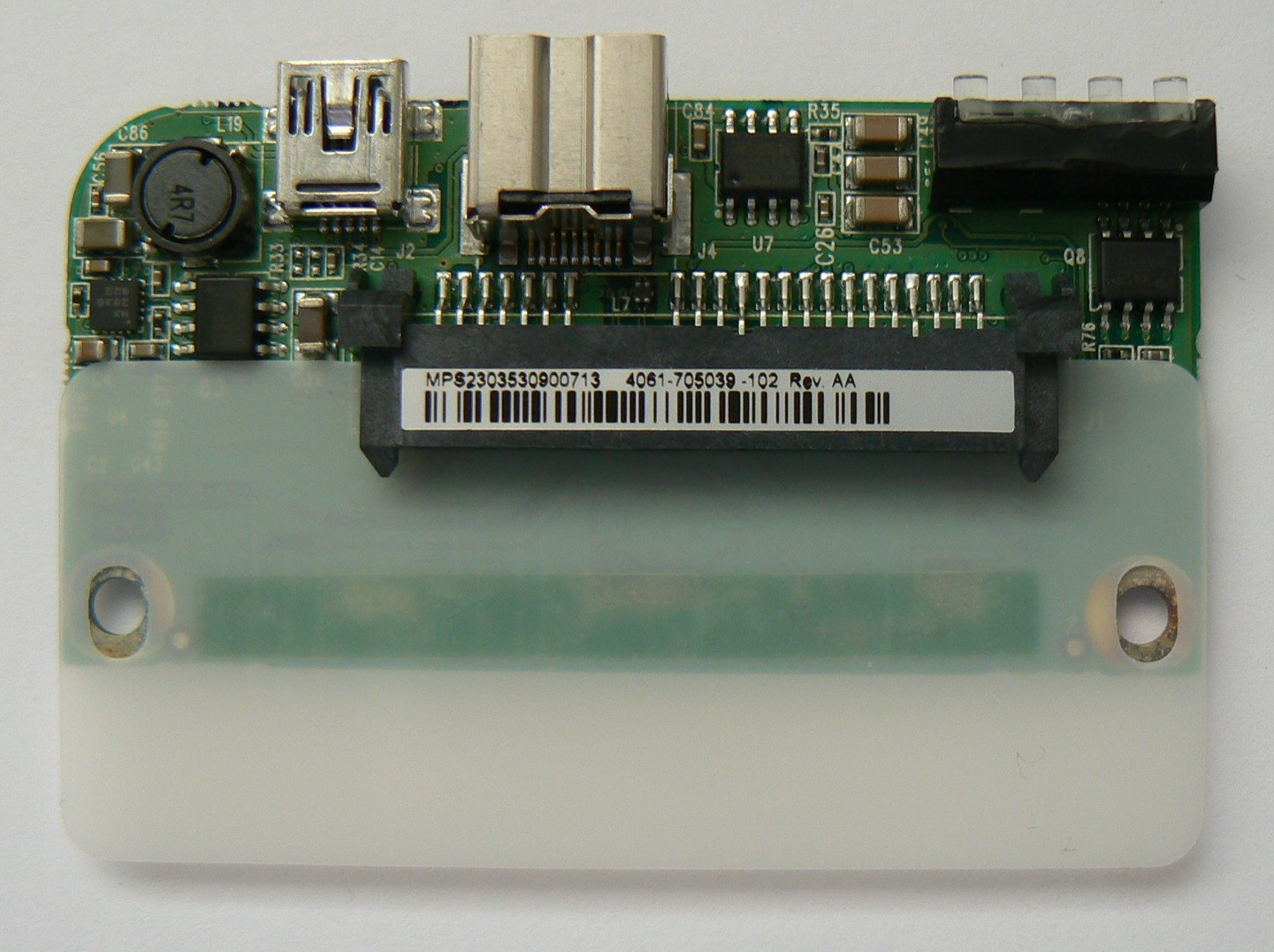 4061-705039-102 Rev AA WD Controller Board My Passport Studio 320GB/500GB