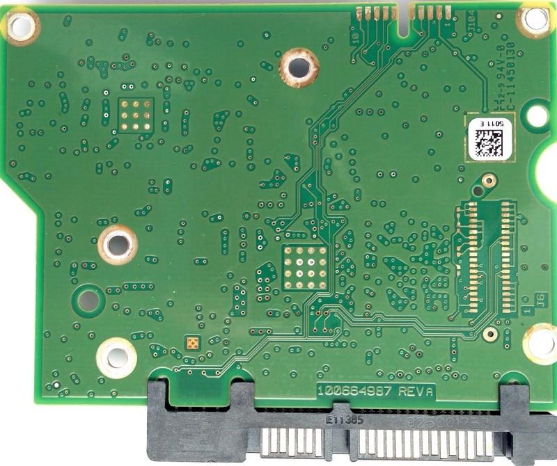 PCB ST3000DM001 100664987 REV A F/W: CC4B P/N: 9YN166-500 Seagate