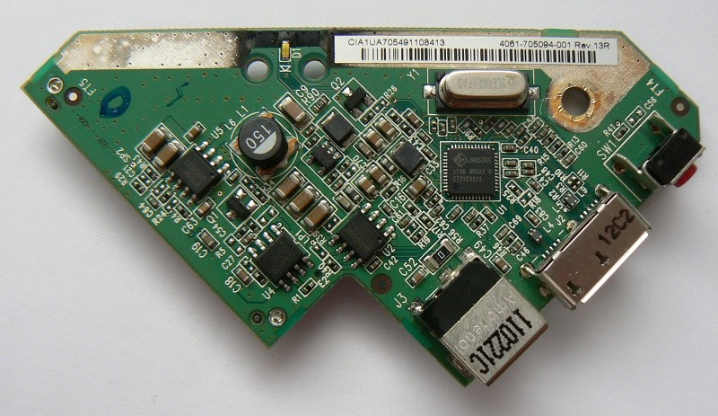 4061-705094-001 Rev 13R WD Controller Board My Book Essential 1/2/3TB USB 3.0