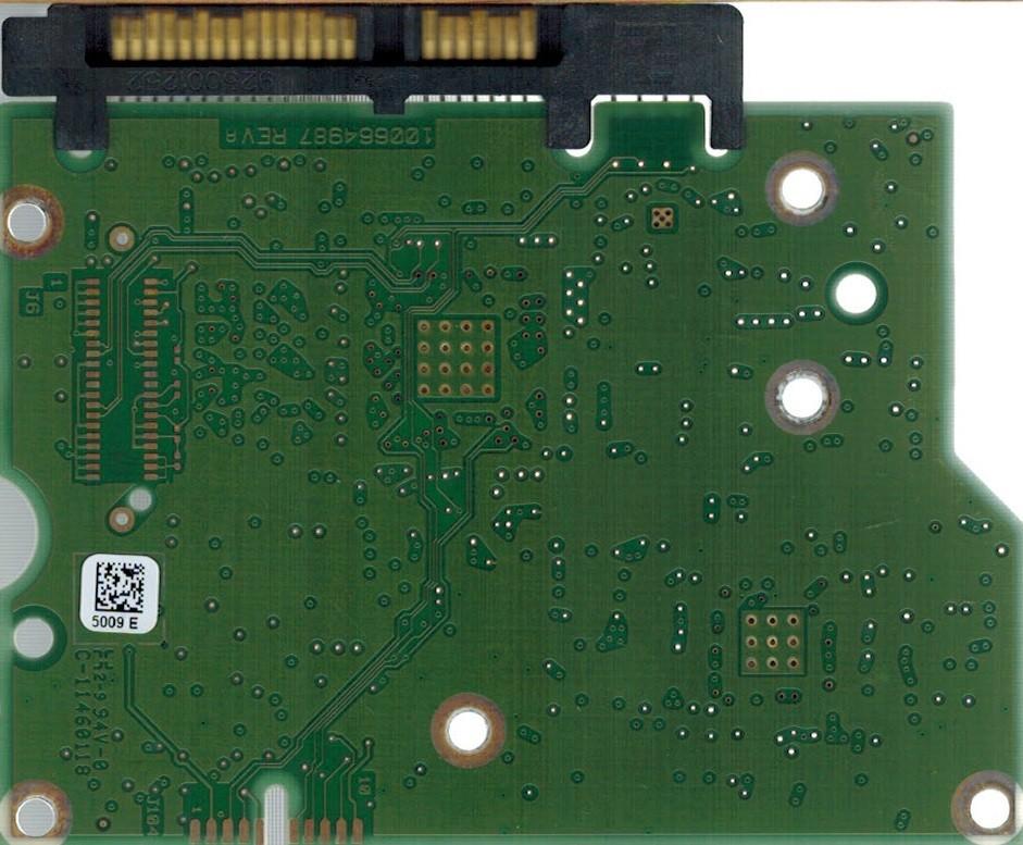 PCB ST3000DM001 100664987 REV A P/N: 9YN166-302 F/W: CC4C Seagate