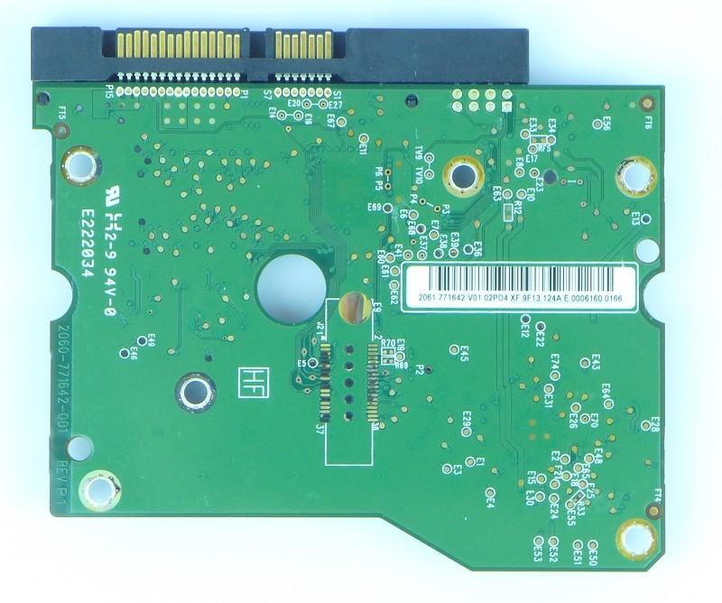 PCB WD20EADS-11R6B1 2061-771642-V01 02PD4 Western Digital