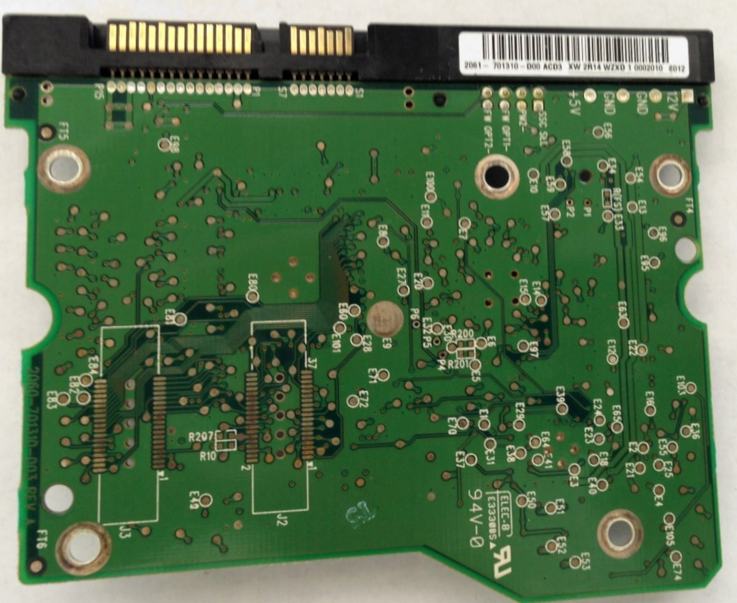 PCB WD4000KD-00NAB0 2061-701310-D00 ACD3  Western Digital
