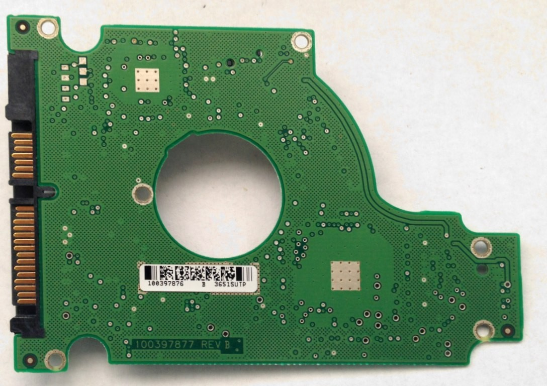 PCB ST9120821AS Seagate P/N: 9W3184-023 F/W: 3.05 100397876