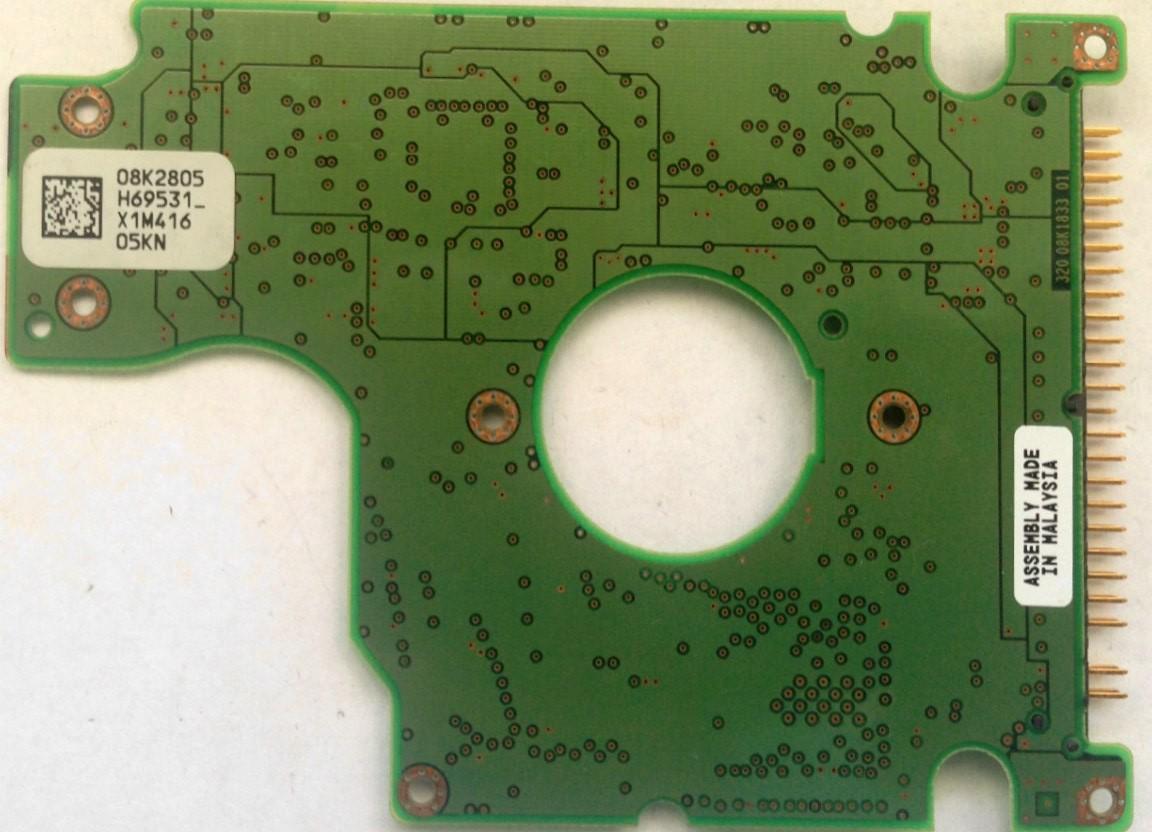 PCB HTS726060M9AT00 08K2805 H69531 P/N: 14R9164 MLC: H69557 Hitachi
