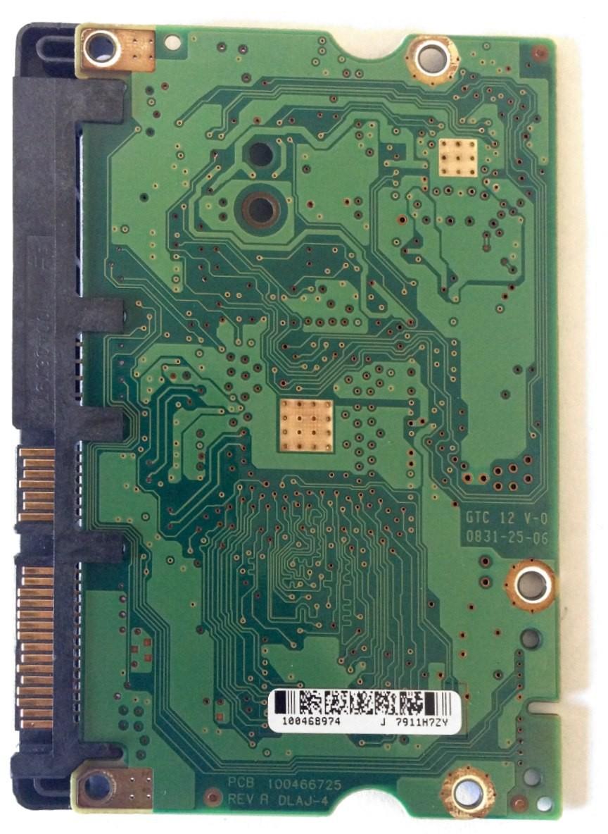 PCB ST3500620AS Seagate P/N: 9BX144-622 F/W: HP26 100466725 REV A
