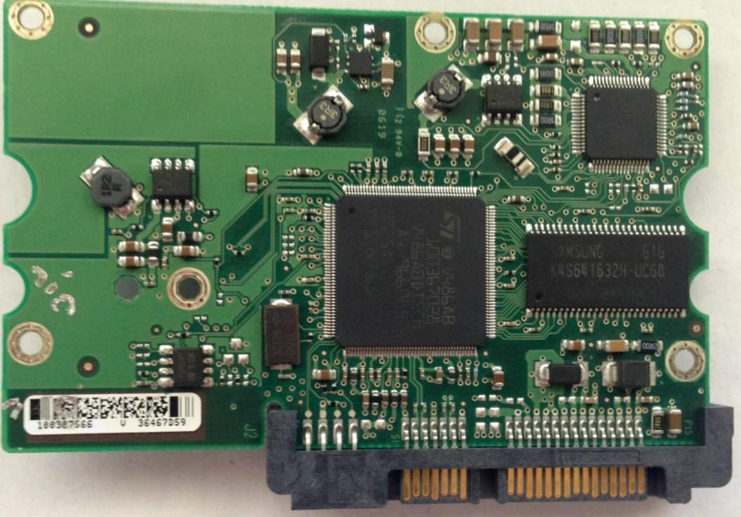PCB ST3250824AS 100387566 P/N: 9BD133-304 F/W: 3.AAH Seagate
