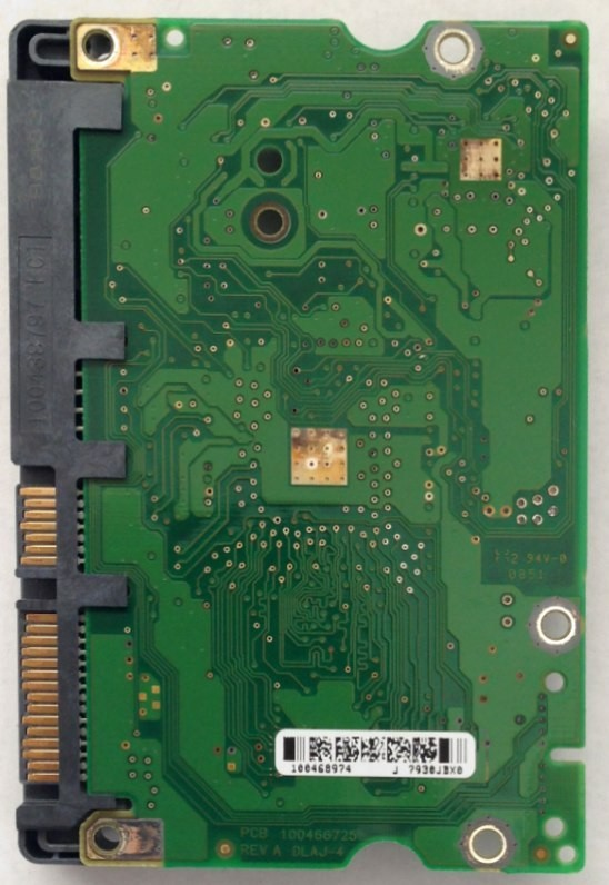 PCB ST3500620AS P/N: 9BX144-622 F/W: HP26 100468974 Seagate 500GB