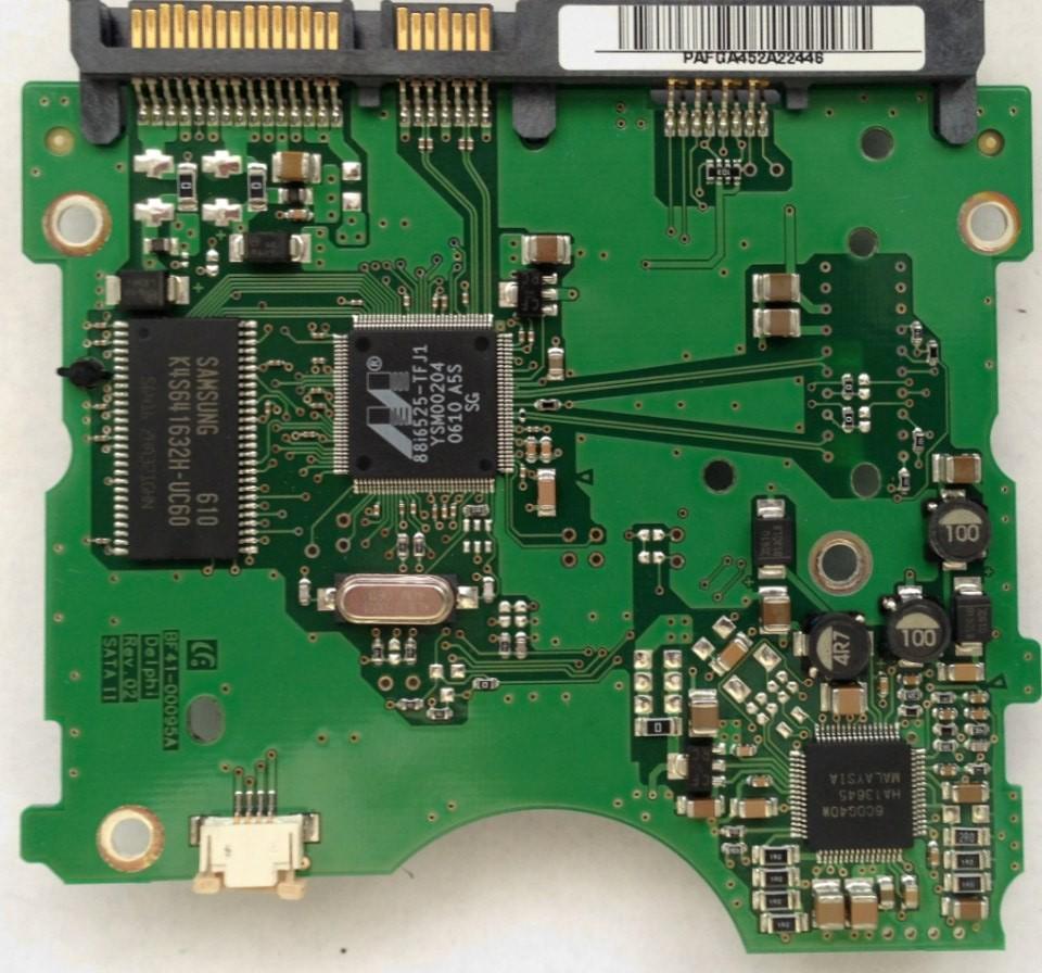 PCB HD160JJ/P Samsung BF41-00095A DELPHI REV 02 SATA II