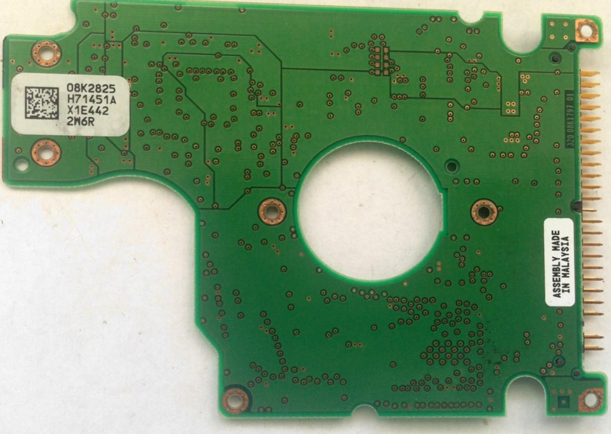 PCB HTS548040M9AT00 08K2825 H71451A P/N: 0A26902 MLC: DA1160 Hitachi