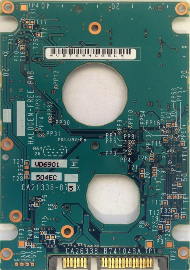 PCB MHV2120BH CA26338-B74104BA P/N: CA06672-B25600C1 FUJITSU