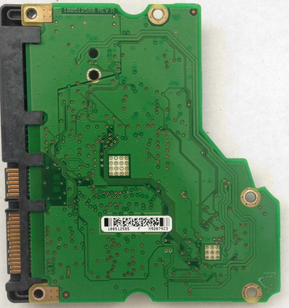 PCB ST31000333AS Seagate P/N: 9FZ136-568 100512585 F/W: SD35