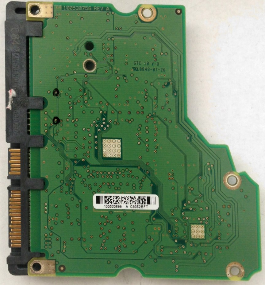 PCB ST31000333AS 100530699 P/N: 9FZ136-568 F/W: CC3H Seagate