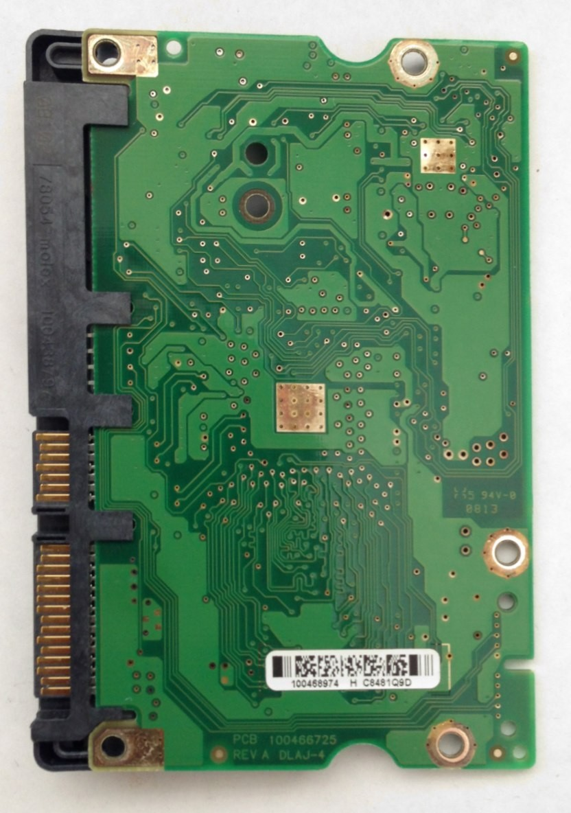 PCB ST3500620AS Seagate F/W: HP26 P/N: 9BX144-622 100466725 REV A