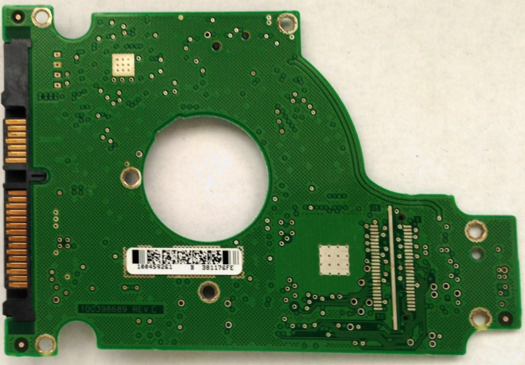 PCB Seagate ST9120822AS P/N: 9S1133-022 F/W: 3.BHE 100459261