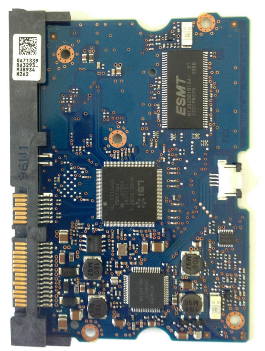 PCB Hitachi HDS722020ALA330 MLC: JPK20N P/N: 0F10311 0A71339 BA3293