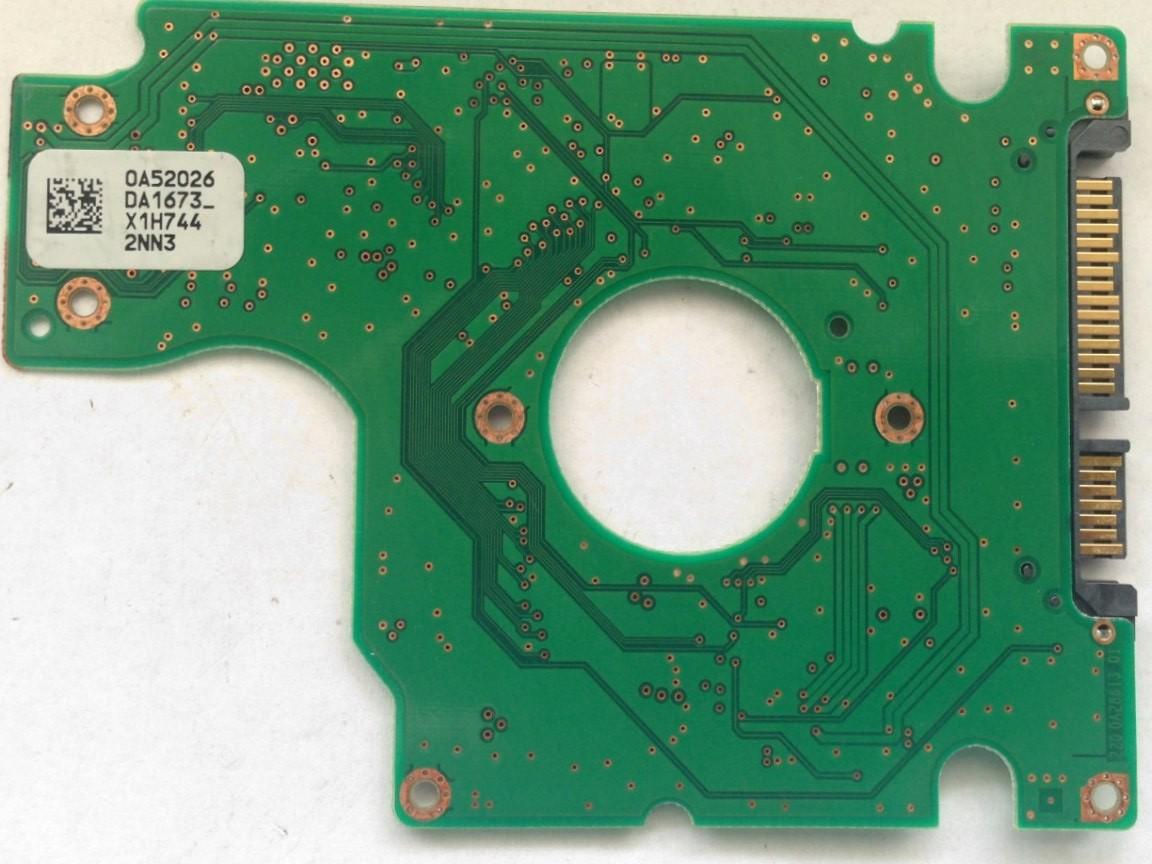 PCB HTS541612J9SA00 0A52026 DA1673 P/N: 0A55732 MLC: DA2043 Hitachi