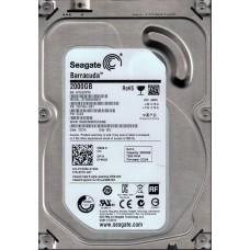 ST2000DM001 P/N: 1CH164-501 F/W: CC24 WU W1E Seagate 2TB